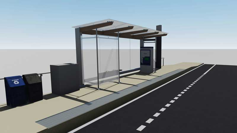 Station Rendering - Front View 2
